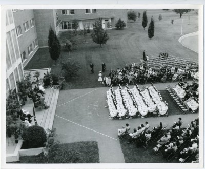 Nursing School graduating class of 1963.