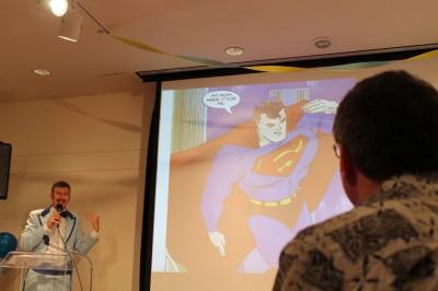 Superman bar mitzvah 1
