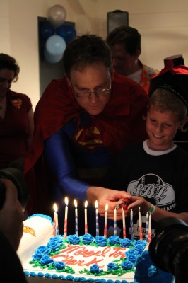 Superman bar mitzvah 8