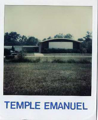 Temple Emanuel, c. 1980. Courtesy of Paul Schlossberg