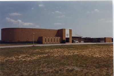 Beth Israel Synagogue on Liberty Rd. Courtesy of Louis Beck. 1987.173.60