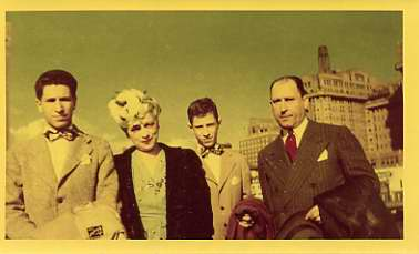 Irving Cohn and family in Atlantic City, NJ, November 1946. Courtesy of Mr. & Mrs. Myron M. Oppenheimer. 2003.86.9.