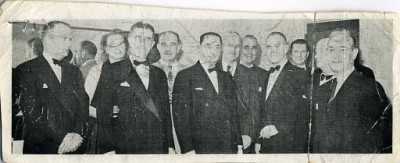 Sidney Cohen with the Real Estate Board, Baltimore, c. 1952. Courtesy of Audrey Fox. 1994.189.2