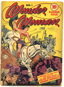 Wonder Woman #1, Summer 1942. Publisher: DC Comics. Collection of Michigan State University Libraries.