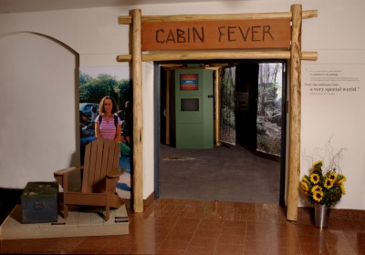 At the entrance to the exhibit, visitors encountered a quote expressing the magical feeling that campers experienced as the camp bus approached the entrance to camp.