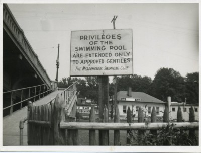Meadowbrook Pool, c. 1950.