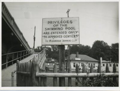 Meadowbrook Pool, c. 1950.