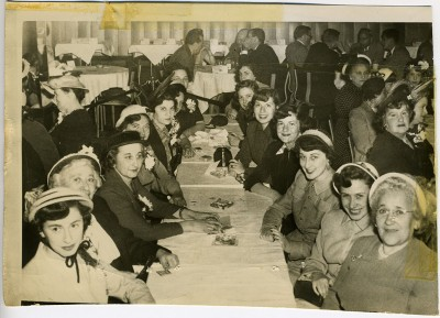 Tau Beta Sigma high school sorority, Baltimore Chapter, Mothers Day Affair. Gift of Dr. Virginia T. Pond, 1984.211.032