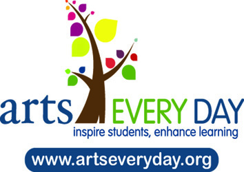 Arts Every Day Tote Bag Logo