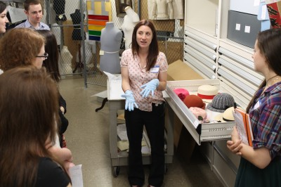 Collections Handling Workshop with Senior Collections Manager Jobi Zink.
