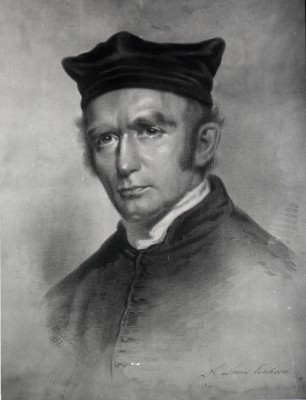 Rabbi David Einhorn, c. 1860, artist unknown. JMM, L1987.018.001.