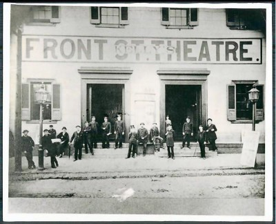 Front Street Theatre, courtesy of the Baltimore Sun.