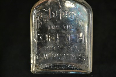"E. W. Hoyt & Co.'s Rubifoam, ""teeth cologne"""