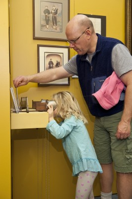Just one of the many child friendly activities in our exhibits!
