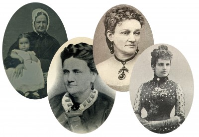 A few ladies of the Civil War