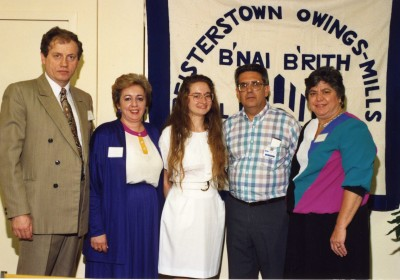 Can you identify the other 33%? The B'nai Brith award recipient is among the people who aren't identified.