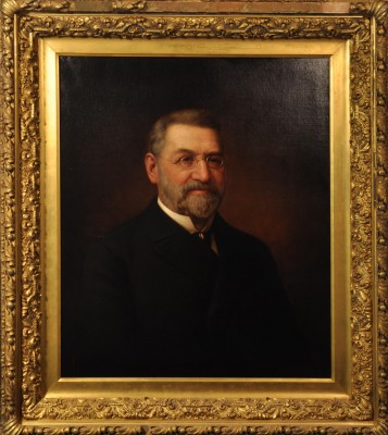 Dr. Aaron Friedenwald, c. 1900. Collection of the JMM; photograph by Shelby Silvernell.