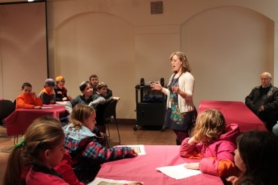 Leading an Immigration Archival Activity