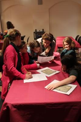Ilene helps students decipher their documents