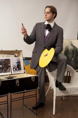 Grant Cloyd as Saul Bernstein.
