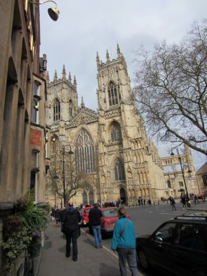 York Minster, I believe it is the second largest cathedral in Europe.  It stands where Constantine was made Emperor of Rome.