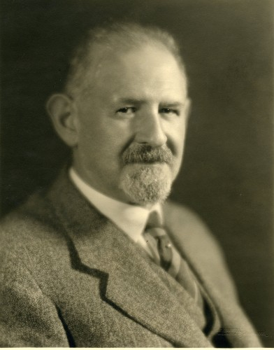A photograph of Dr. Harry Friedenwald.