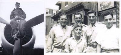Mervin Fribush and Jacob Matz are two of my WWII veteran boyfriends.