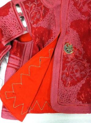 Mendes' Zouave-style jacket, circa 1830