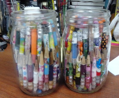 That's nearly 2 FULL jars of retired stubs!