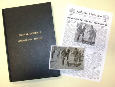 The Colonial Chronicle, Annapolis, Md. JMM#2014.041 Donated by Tylar Hecht for the Allen J. Reiter Lodge of B'nai B'rith