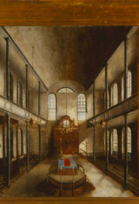 Interior of Kahal Kadosh Beth Elohim by Carvahlo