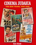 Caption: The cover of the companion book to the exhibit. Some of the films featured on the cover, like Confessions of a Nazi Spy were shown in Baltimore. Image courtesy of ccarnet.org.