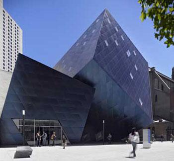 exterior, The Contemporary Jewish Museum