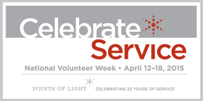Happy National Volunteer Week from the JMM!