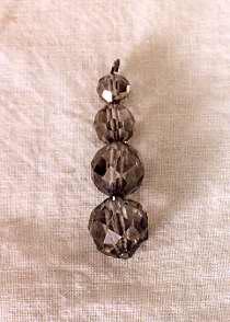 Crystal Chandelier Pendant. JMM 1986.072.033