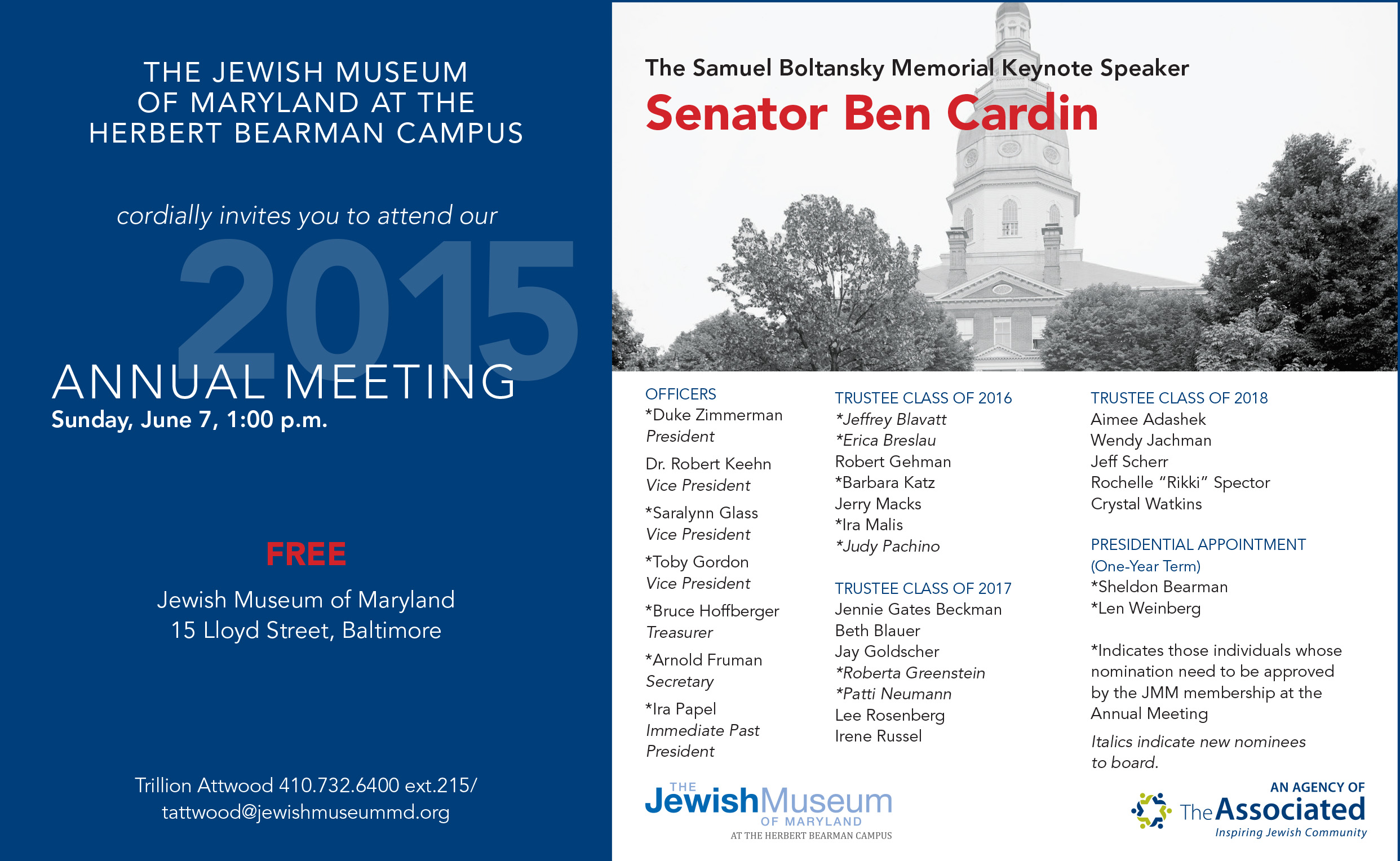 jewish singles in cardin Jewish insider's daily kickoff: april 17,  senator ben cardin  he has yet to announce a single senior hire to replace the departing officials.