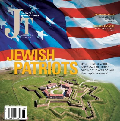 On the cover of the Baltimore Jewish Times