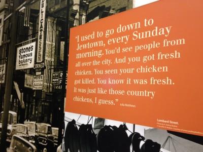 The Jewish influence on Baltimore City.