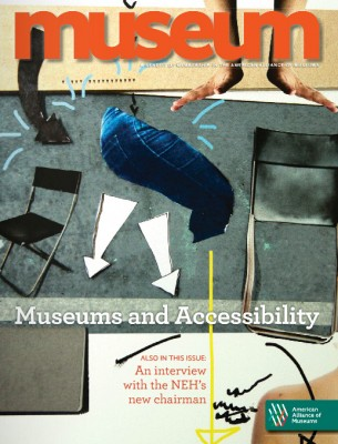 Cover of this month's AAM Museum magazine.