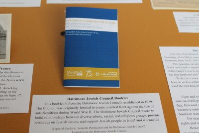 Baltimore Jewish Council booklet
