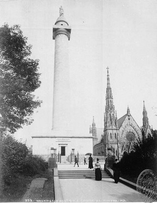 Washington Monument, 1890