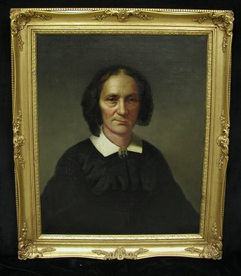 Fredericka W. Herstein, mid 19th century, donated by David Herstein. JMM 2005.60.1