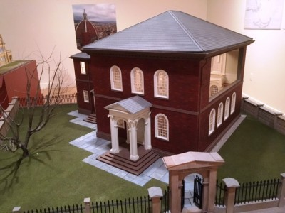 Touro Synagogue model