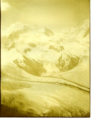 1984.023.016 – Snow covered mountain in Switzerland