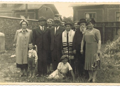 Jakob Enoch Rosenbaum Bar Mitzvah from A Town Known as Auschwitz.