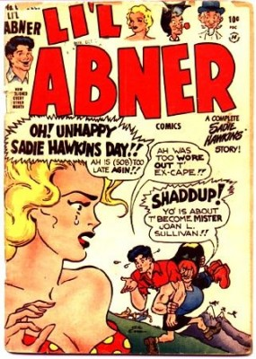 Li'l Abner Comic book, Sadie Hawkins edition