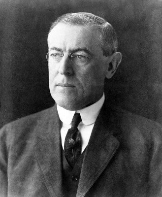 Woodrow Wilson, 28th President of the United State