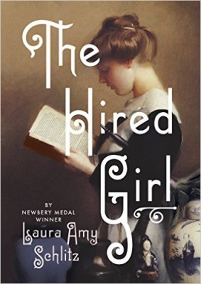 "Cover of ""The Hired Girl."""