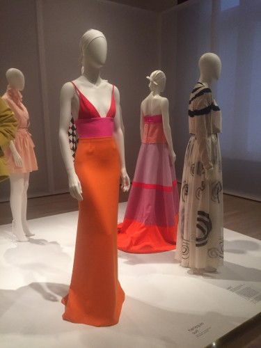 At the Jewish Museum we viewed an incredible exhibit displaying gowns, sketches and costumes by Isaac Mizrahi.