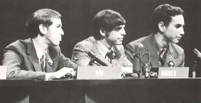 My main connection to Merrick Garland was through the 1969-70 Prep Bowl Quiz Team, he was the captain when we won the regional championship, I was a bench warmer!